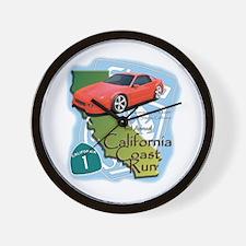 3rd Annual California Coast R Wall Clock
