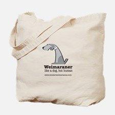 Cute Weimaraner Tote Bag