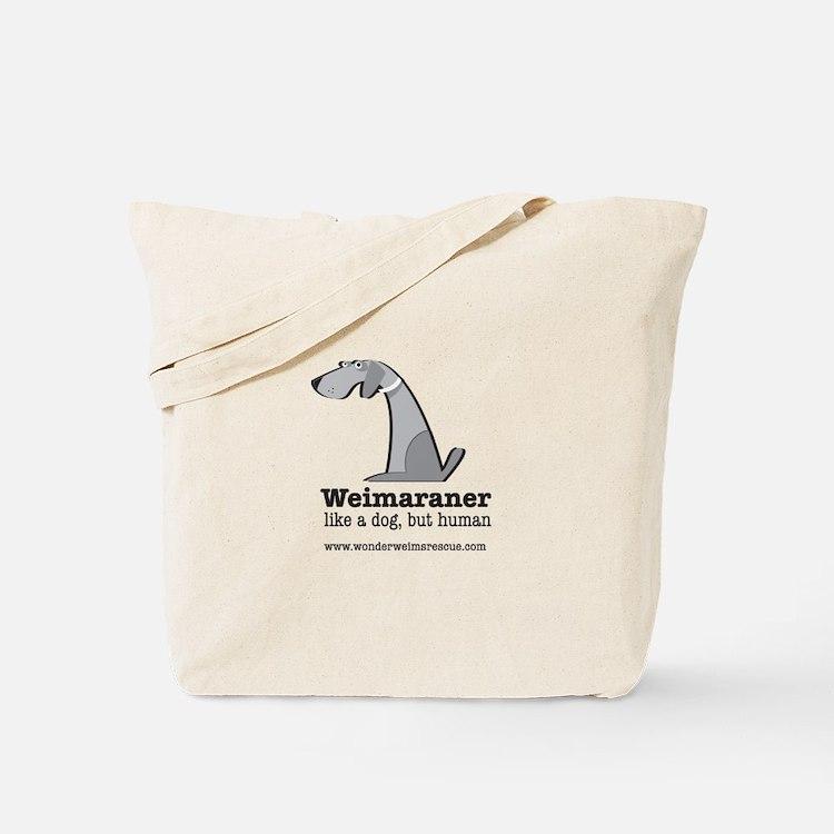 Cute Weim Tote Bag