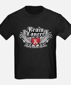 Brain Cancer Wings T