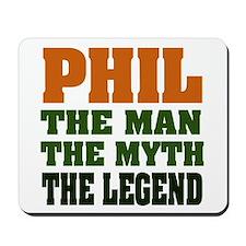 PHIL - The Legend Mousepad
