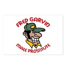 Fred Garvin Postcards (Package of 8)