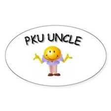 PKU UNCLE Oval Decal