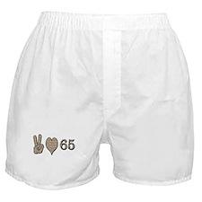 Cute 65th birthday Boxer Shorts