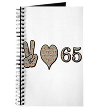 Unique Happy sixty fifth birthday Journal