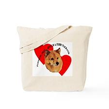 Finnish Spitz Love Tote Bag