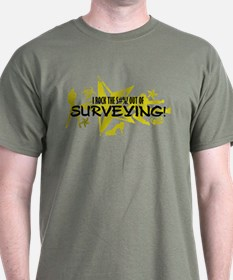 I ROCK THE S#%! - SURVEYING T-Shirt