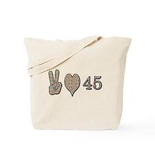 Cute 45th birthday Tote Bag