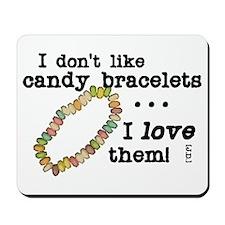 Candy Bracelets Mousepad