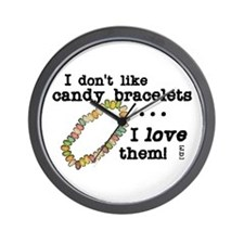 Candy Bracelets Wall Clock