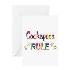 Cockapoo Greeting Card