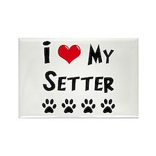 Setter Rectangle Magnet (100 pack)
