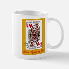 Queen of Hearts Mug (gold)