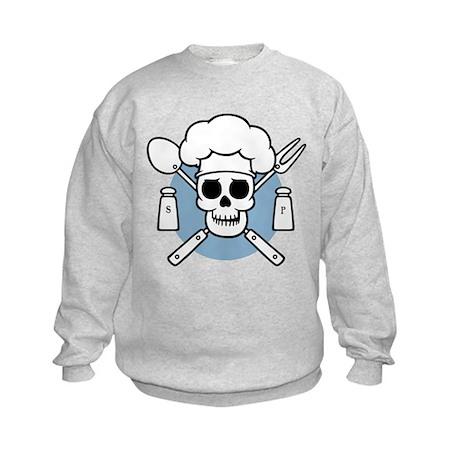 Chef Pirate Kids Sweatshirt