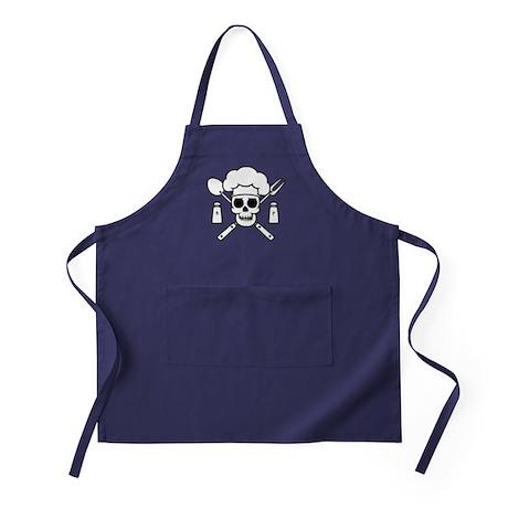 Chef Pirate Apron (dark)