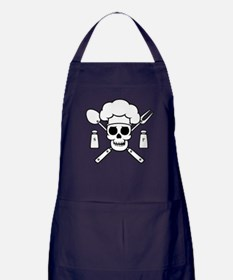 Chef Pirate Apron (dark)