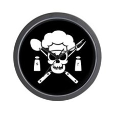 Chef Pirate Wall Clock