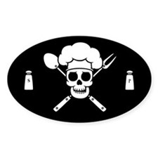 Chef Pirate Stickers