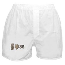 Cute 35th birthday Boxer Shorts