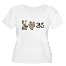 Cute 35 birthday T-Shirt