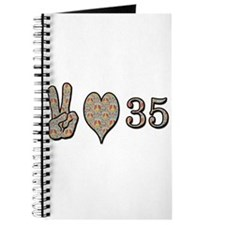 Cute 35th birthday Journal