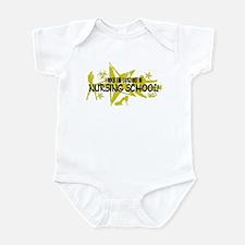 I ROCK THE S#%! - NURSING SCHOOL Infant Bodysuit