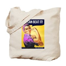 Rosie Can Beat Breast Cancer Tote Bag