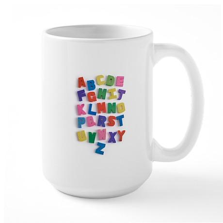 ALPHABET Large Mug