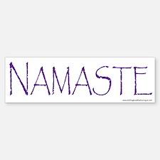 NAMASTE Bumper Bumper Sticker