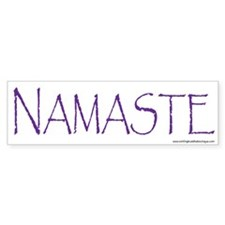 NAMASTE Car Sticker