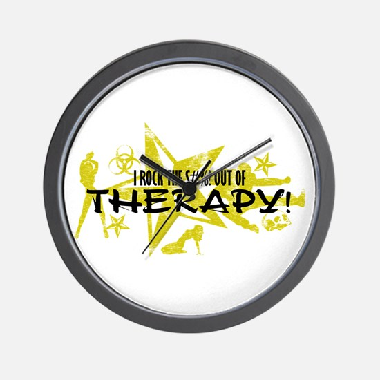 I ROCK THE S#%! - THERAPY Wall Clock