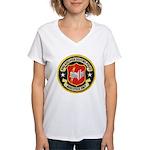 Philadelphia Housing PD Narc Women's V-Neck T-Shir