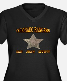 Colorado Rangers San Juan Women's Plus Size V-Neck