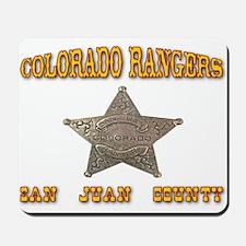 Colorado Rangers San Juan Mousepad