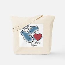 Raynaud's Phenomenon Tote Bag