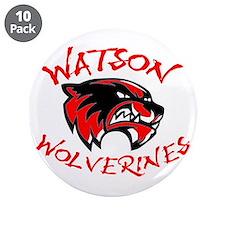 """Watson Junior High 3.5"""" Button (10 pack)"""