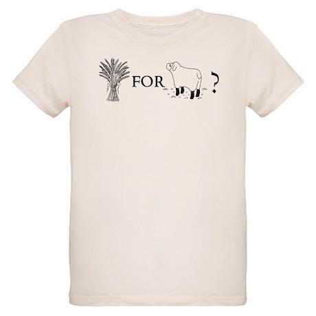 Wheat for Sheep Organic Kids T-Shirt