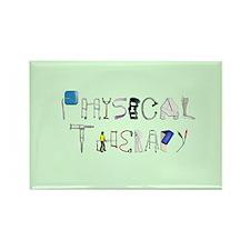 PT at Work Rectangle Magnet