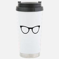 Librarian Glasses Travel Mug