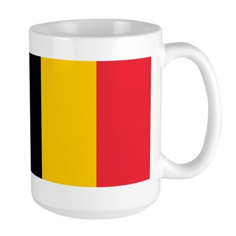 Belgian Flag Large Mug
