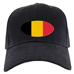 Belgian Flag Black Cap