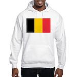 Belgian Flag Hooded Sweatshirt