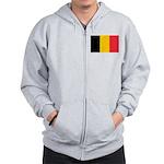 Belgian Flag Zip Hoodie