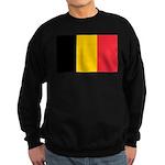 Belgian Flag Sweatshirt (dark)