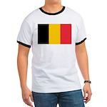 Belgian Flag Ringer T