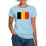 Belgian Flag Women's Light T-Shirt