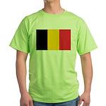 Belgian Flag Green T-Shirt