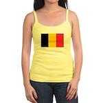 Belgian Flag Jr. Spaghetti Tank