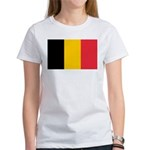 Belgian Flag Women's T-Shirt