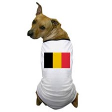 Belgian Flag Dog T-Shirt